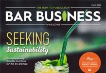 March 2020 bar business magazine cover