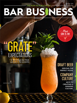 October 2019 bar business magazine digital edition