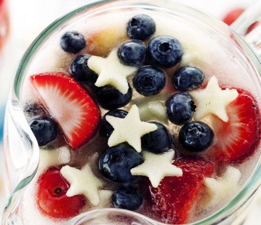 Patriotic Spritzer Cocktail Recipe