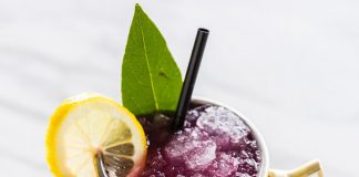 Depp Eddy Vodka Blueberry Ginger Mule Cocktail Recipe
