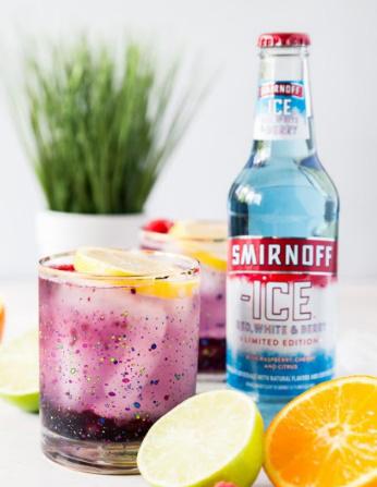 Smirnoff Ice Americana Lemonade Cocktail