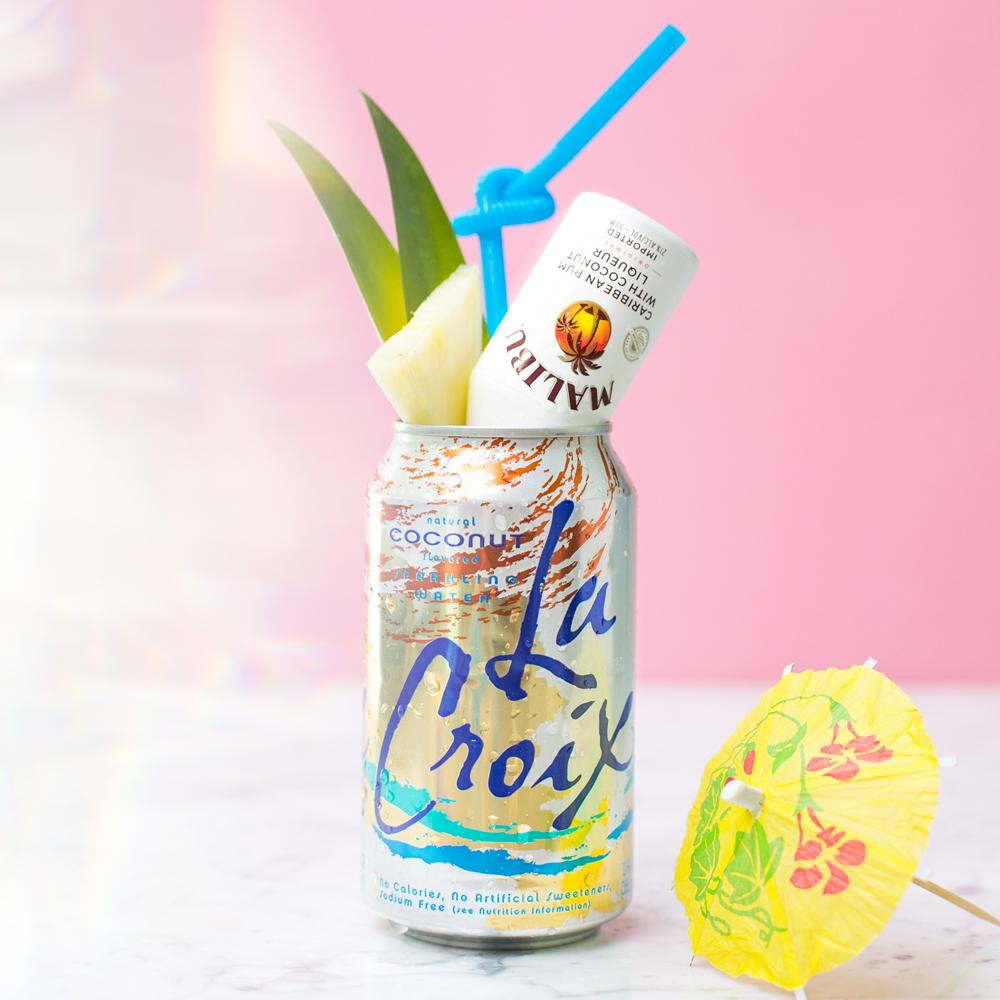 La Croix & Malibu Can Cocktail
