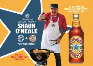 Shaun O'Neale grilling recipe