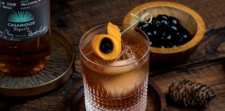 Casamigos Añejo New Fashioned Drink Recipe