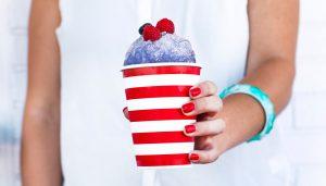 Boozy Berry Snow Cone