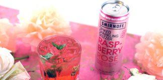 SMIRNOFF Spiked Sparkling Seltzer Raspberry Rosé