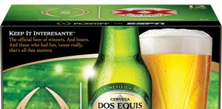 Dos Equis College Football Playoff Sponsor Packaging