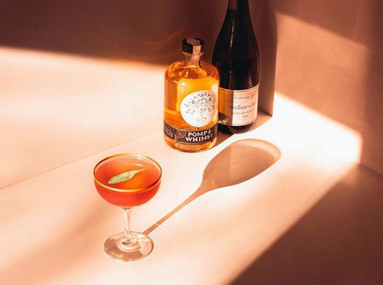 Pomp & Whimsy Gin Liqueur Gins & Roses Cocktail Recipe