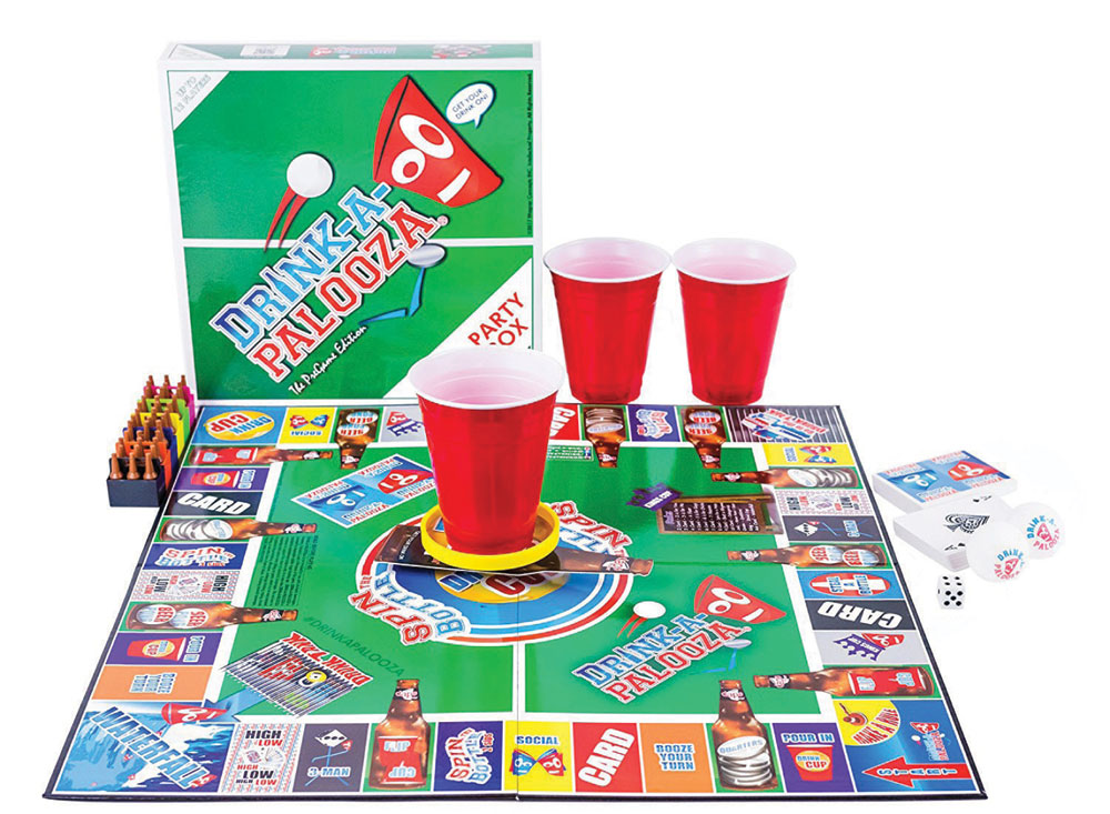 Drink a Palooza Bar Games
