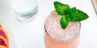 Van Gogh Cool Peach Bellini Cocktail Recipe
