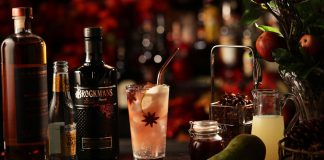 Brockmans Gin Autumn Tonic Cocktail Recipe