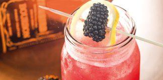 Blackberry Bourbon Lemonade Cocktail Recipe