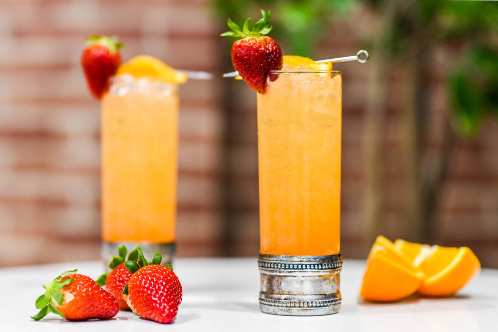 Seagram's Strawberry Screwdriver