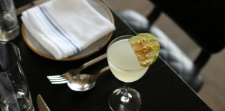 La Fete's Caramel Apple Martini cocktail recipe