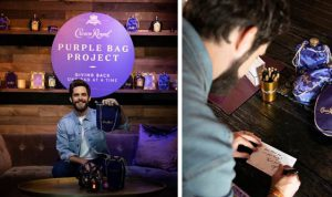 crown royal purple bag project