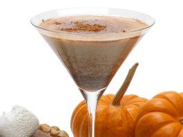 Rumchata Pumpkin Martini