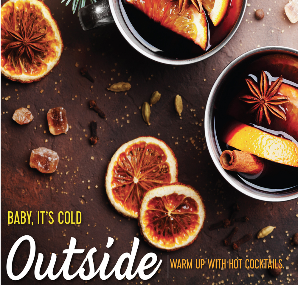 Baby its cold Outside, Winter cocktails, hot cocktails