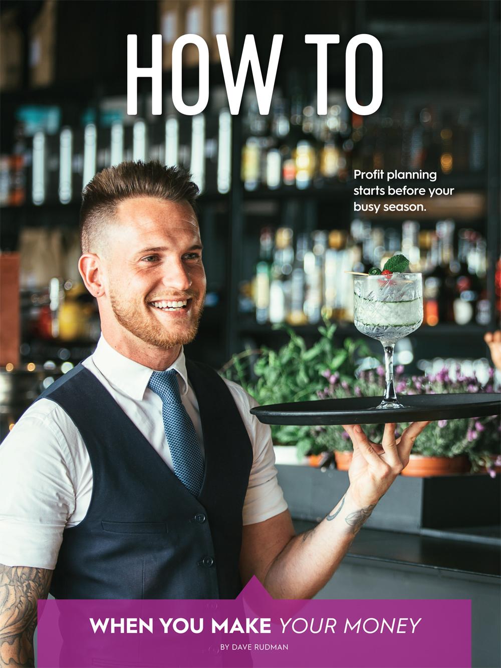 profit planning for bars
