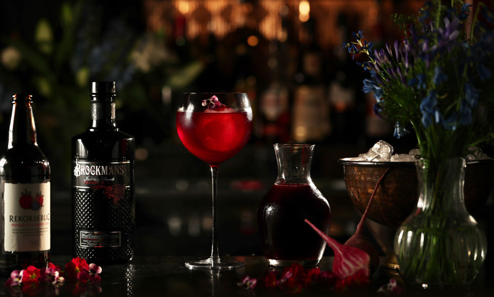 Brockmans Gin Purple Spring cocktail recipe