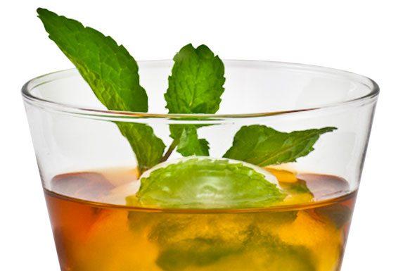 Monin's Basil Lime Negroni cocktail recipe