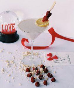 Max Brenner Raspberry Lemon cocktail recipe