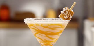 RumChata Salted Caramel Martini Cocktail Recipe