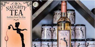 Naughty Tea wine