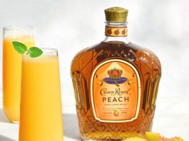 Crown Royal Peach Fizz Cocktail Recipe