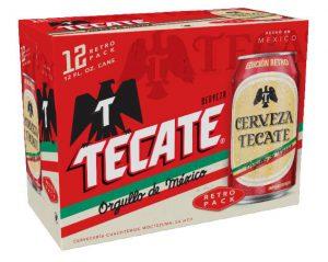 Tecate Retro Can