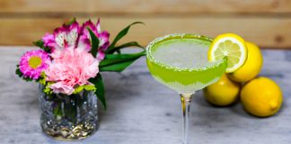 Seagram's Vodka Apple Lemon Drop cocktail recipe