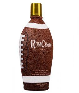 Rumchata football bottle 2019