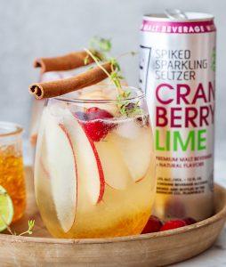 Smirnoff Cranberry Apple Smash cocktail recipe