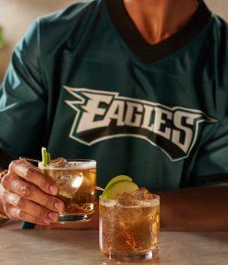 Philadelphia Eagles Kelly Green Apple cocktail recipe