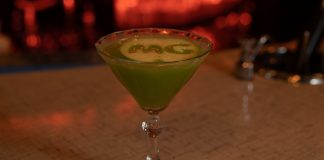 moneygun appletini cocktail recipe