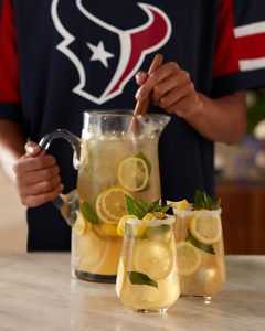 Houston Texans H-Town Lemonade cocktail recipe