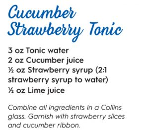 cucumber strawberry tonic cocktail recipe wellness