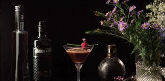 Brockmans Gin Forest Gâteau Martini Cocktail recipe