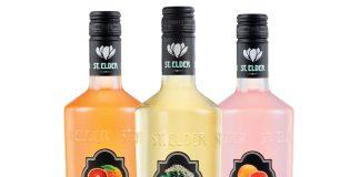 St. Elder Pamplemousse Artisanal Liqueur and St. Elder Blood Orange Artisanal Liqueur