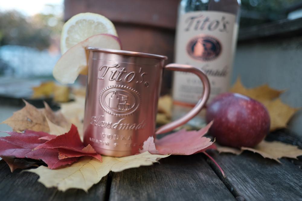 Tito's Spiced Apple Cider Mule cocktail recipe