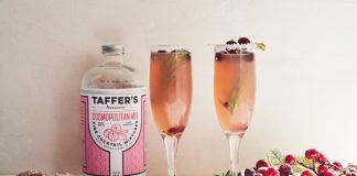 Taffer's Mixologist Christmas Cosmobellini cocktail recipe