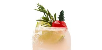 Monin Santa Claws Spritz cocktail recipe