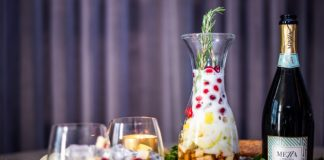 Christmas Zzangria cocktail recipe