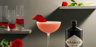 Hendrick's Gin Riviera Rose cocktail recipe