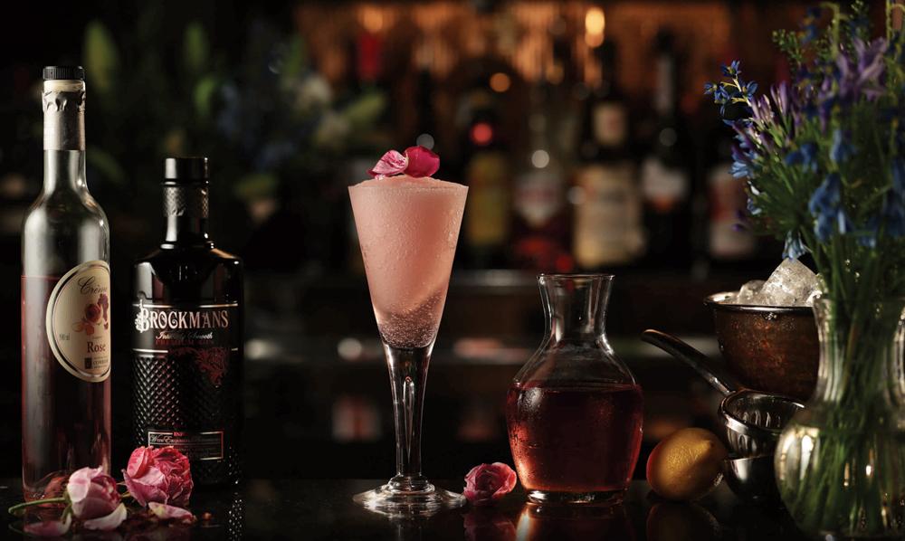 Brockmans Gin Frosé cocktail recipe