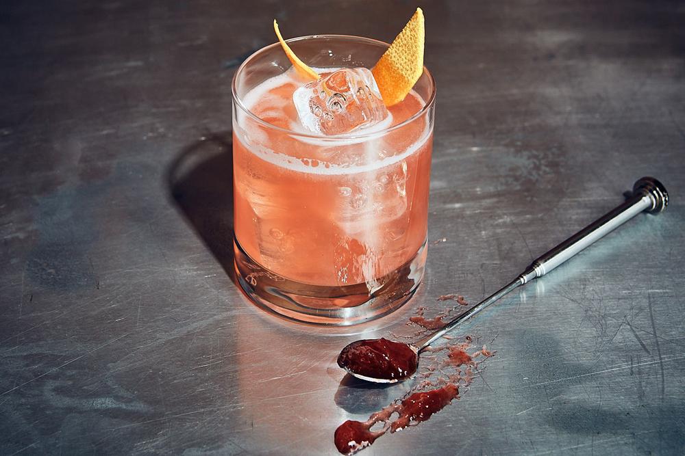 Monkey Jam Sour cocktail recipe