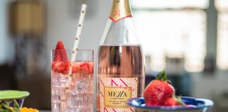 Fragole on Ice Mezzacorona cocktail recipe