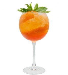 Monin Orange Spritz cocktail recipe