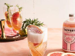 Taffer's Mixologist Rosemary Grapefruit Spritzer