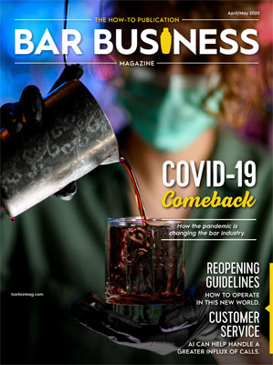bar business magazine april may 2020