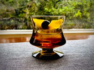 black maple old fashioned quarantine cocktail recipe